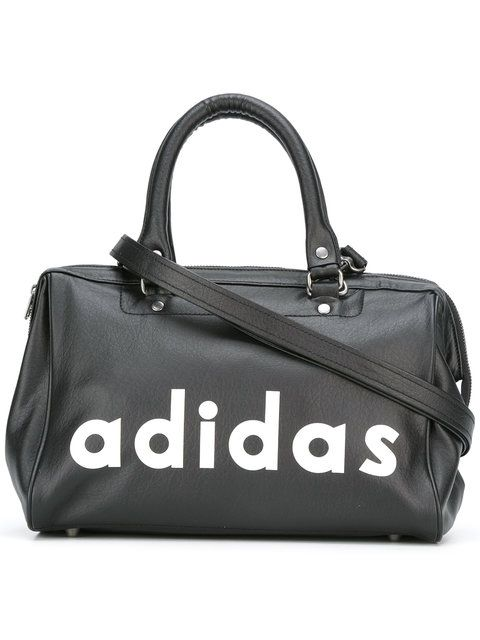 ADIDAS ORIGINALS Logo Print Tote. #adidasoriginals #bags #hand bags #polyester #tote #
