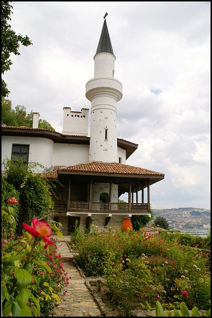 Villa of the Queen Maria, Baltchik, Bulgaria