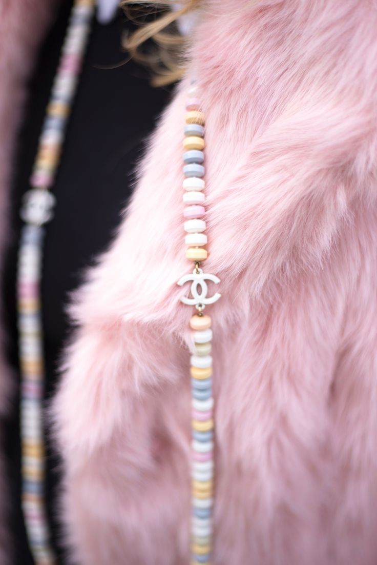 chanel candy necklace