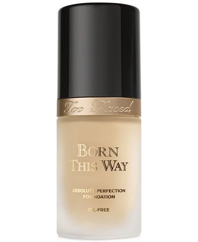 Too Faced Born This Way #Foundation #beautyinthebag