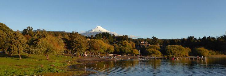 Vulkan Villarica bei Pucón in der chilenischen Schweiz