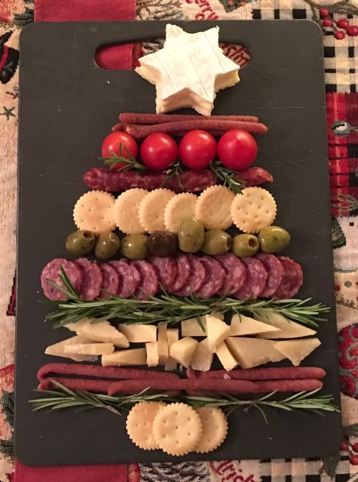 Antipasti Albero di Natale goloso #antipasti #Natale #Christmas #appetizer #Italianstyle
