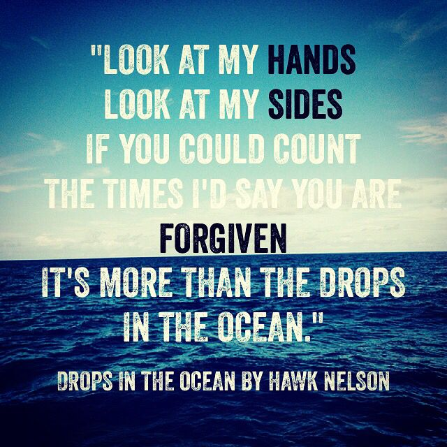 """Drops in the Ocean"" - Hawk Nelson"
