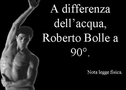 Roberto Bolle, ballerino