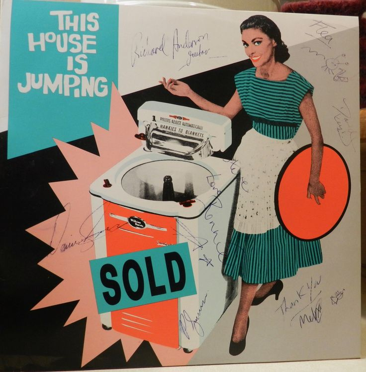This House Is Jumping Vinyl Record - Signed By The Band! Extremely Rare!