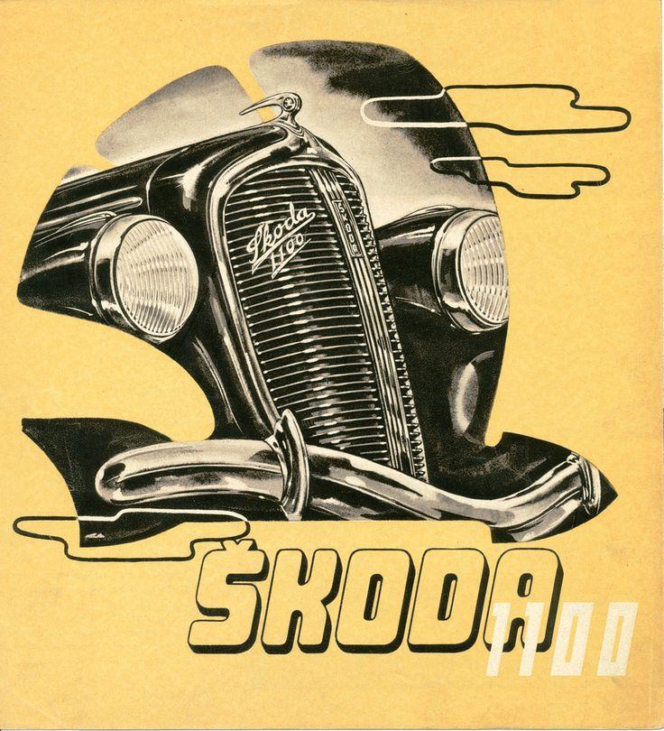 ASAP Brochure ŠKODA 1100 (1938)   Flickr - Photo Sharing!