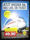 #lastminute  LIDL DB TICKET 2 Bahn Fahrten neu nur noch wenige Tage! #belgium
