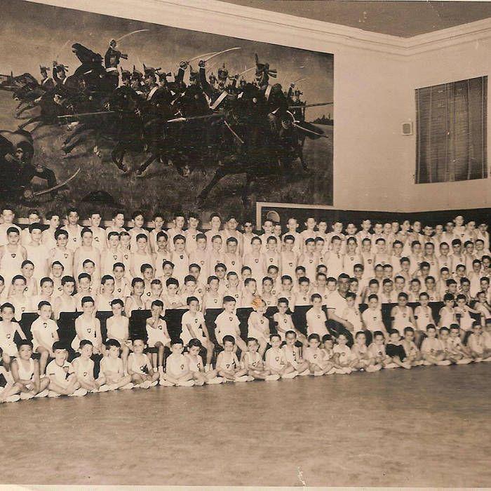 saln san martn mural carga de los granaderos del general san martn en el combate de san lorenzo obra indita de metros de largo por metu