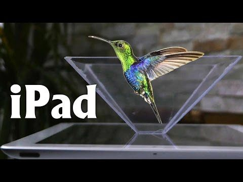 Smartphone 3D Hologram Projector - Turn your Smartphone into a 3D Hologram - YouTube