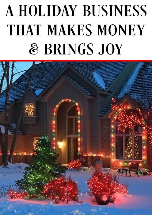 enjoying your job is crucial to your wellbeing do you love hanging christmas lights if so we have a opportunity for you christmas light installation - Christmas Light Hanging Business