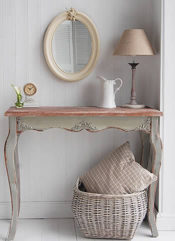 Hall Console Table From White Cottage