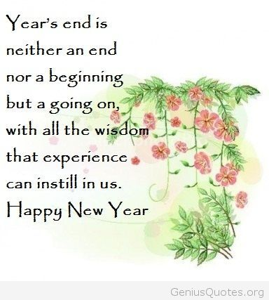 Happy new year greeting quote 2015