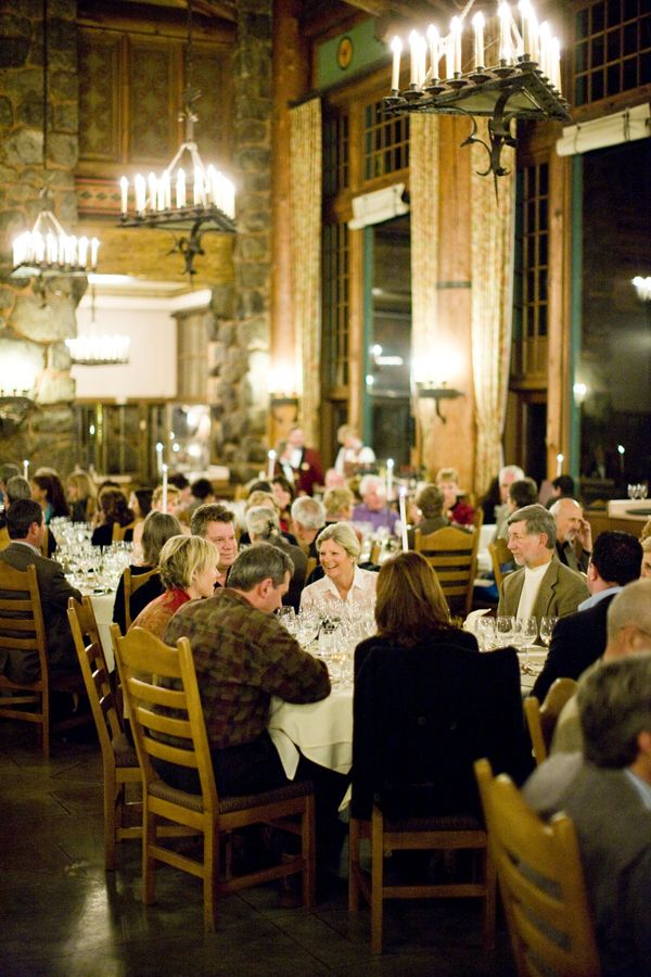 Chefs Holidays Gala Dinner In The Ahwahnee Dining Room At Yosemite