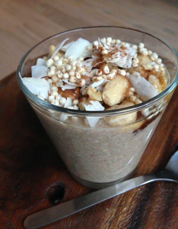 Een gezonde, lekkere en leuke variatie op je havermout ontbijt: boekweit ontbijt pap! Zelf getest… en ik kan niet anders zeggen… ik lust er wel pap van! Het is namelijk minstens net zo voedzaam als ha