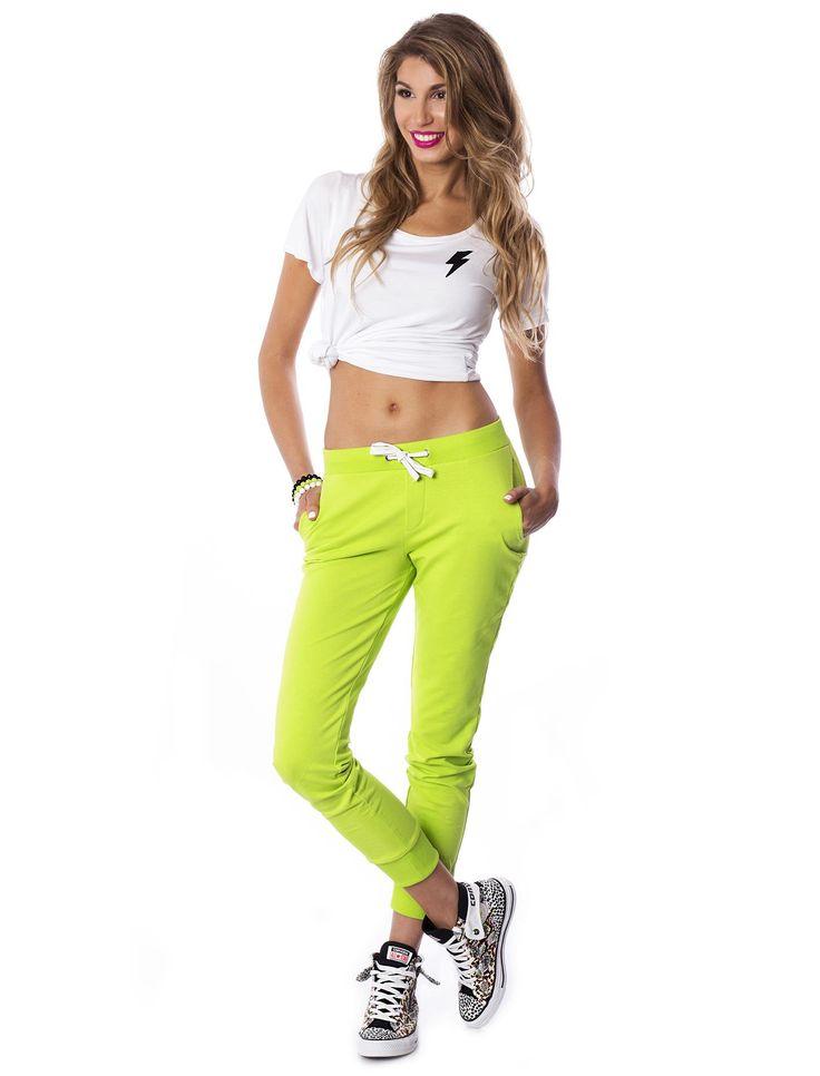 Electric Lime Pants #pants #lime #design #lemon #urbanwear #street #streetstyle #style