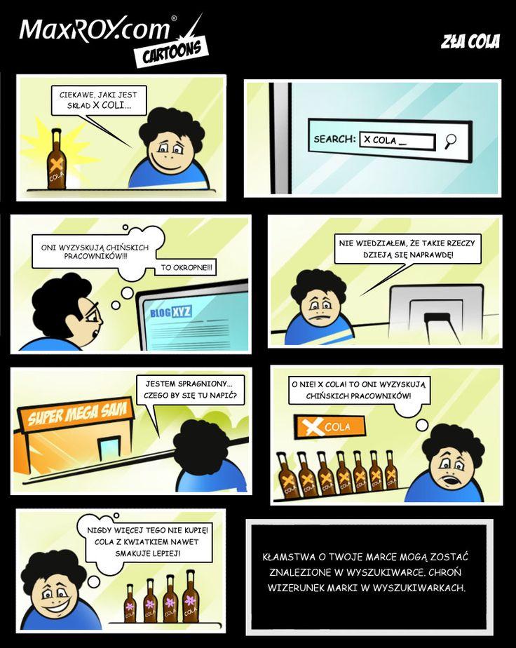 """Komiks """"Złe piwo"""""""