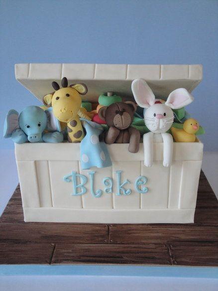 Toy box cake designs