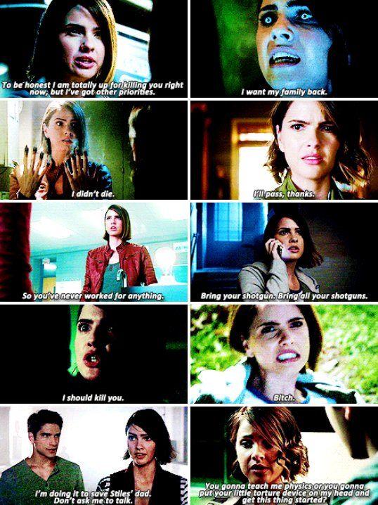 Malia Tate in season 5b + favorite lines