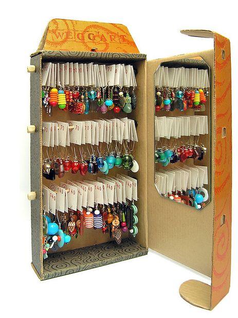 Ideas para hacer un joyero a medida con cajas de cartón - ManualidadesGratis.es …