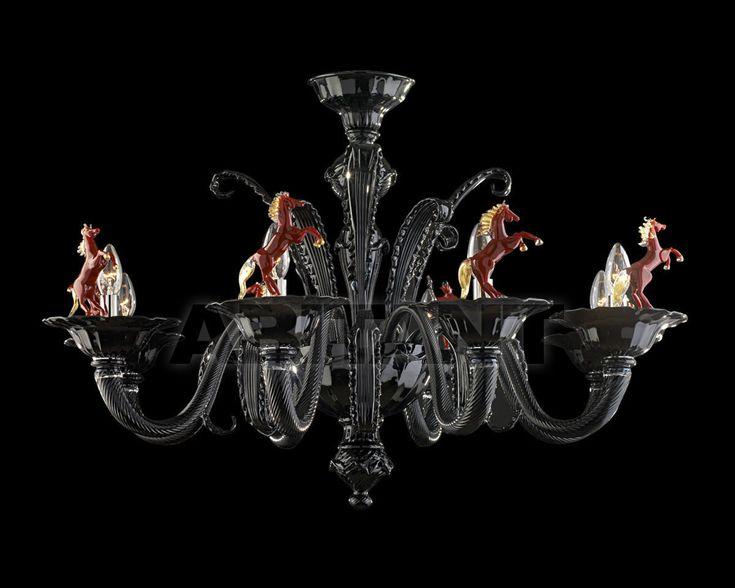 Люстра черная Arte di Murano 7997 8 , каталог осветительных приборов: фото, заказ - ABITANT , Москва