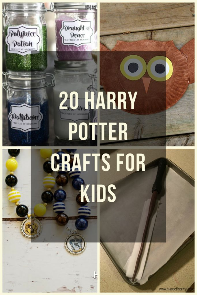 Whether you want to do a craft with your kids before watching the movie or teach your kids about the magic of Harry Potter, your kids will love these crafts! These Harry Potter crafts are such a fun way to relive the series and experience the magic with your kids over and over again!  #hp #Harrypotter #kids #crafts #KidsCrafts