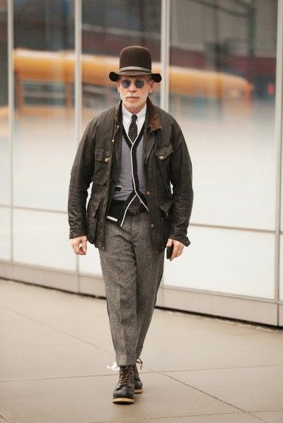 Nick Wooster Street Style Look Men Mensfashion Fall