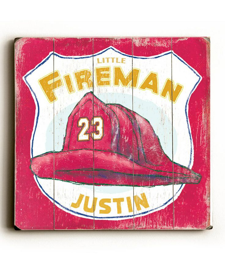 Another great find on  zulily  Fireman s Hat Personalized Wall Art by  ArteHouse  zulilyfinds41 best Fireman Bedroom images on Pinterest   Fireman room  Fire  . Firefighter Room Decorations. Home Design Ideas