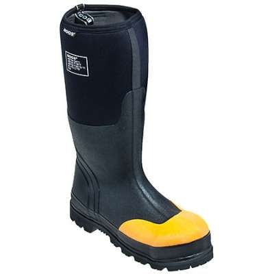 Bogs Rancher Steel Toe Waterproof Black Boot 69172