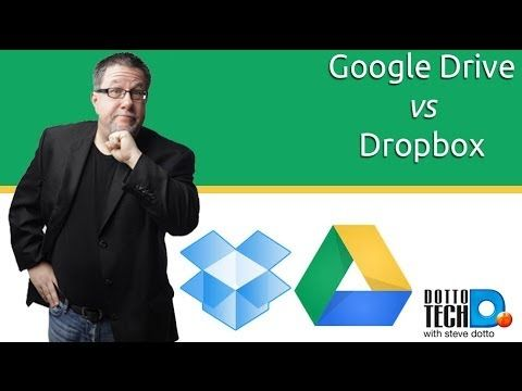 Dropbox vs Google Drive  BEST EXPLANATION I HAVE EVER FOUND
