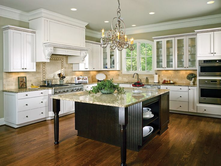 7 best Two-Tone Kitchens images on Pinterest | Cabinet ideas ...