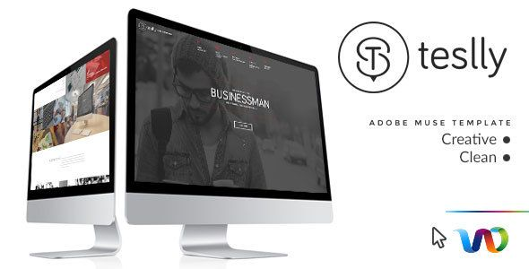 Teslly Personal Web Portfolio Muse Template (Personal) - http://wpskull.com/teslly-personal-web-portfolio-muse-template-personal/wordpress-offers