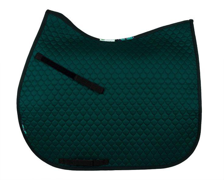 HiWither everyday saddlepad (SP11) GP Bottle green