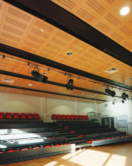 Armstrong Wood Ceilings-Slotted-Perforated