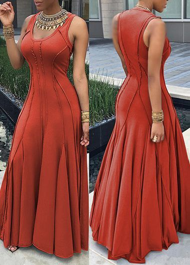 d s red maxi dress ashley
