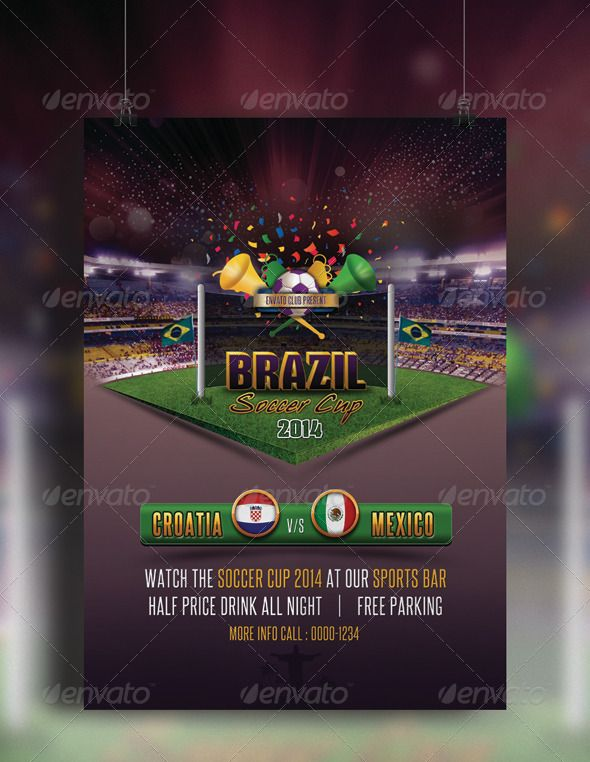 967 best Event Flyer Ideas images on Pinterest Event flyers - soccer flyer template