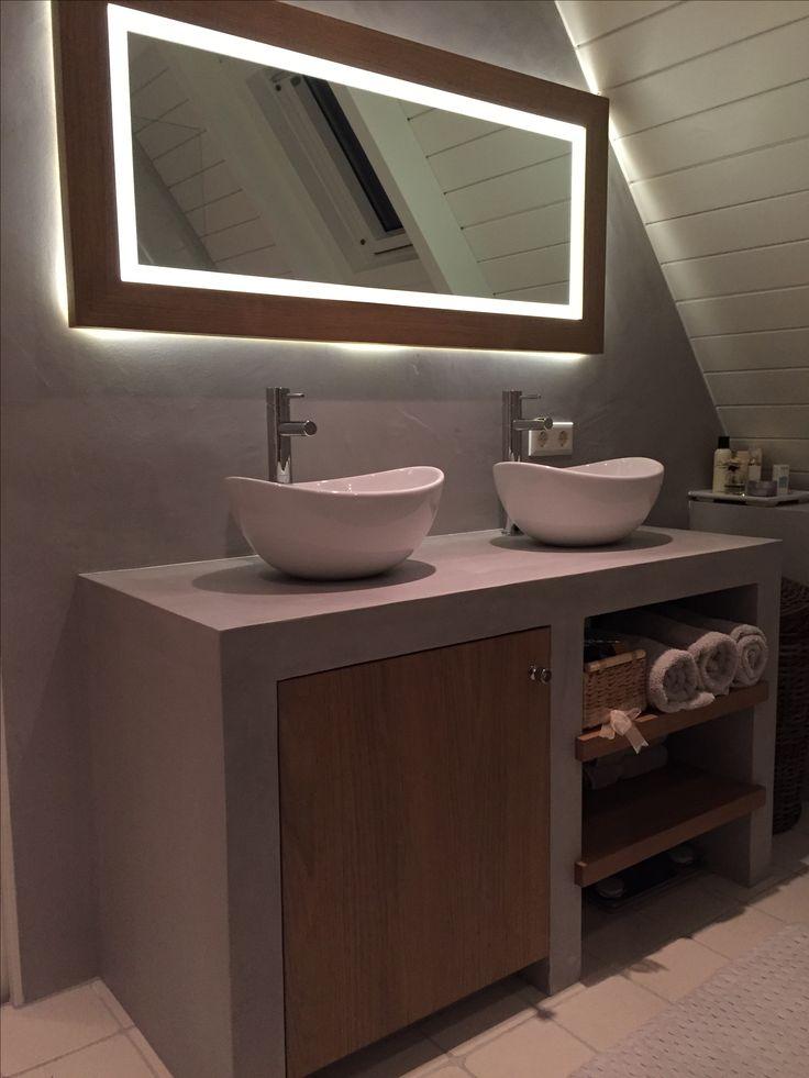 17 beste idee n over badkamer spiegels op pinterest een for Badkamer spiegel 60x80