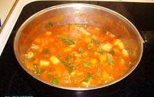 Snabb minestronesoppa á la viktväktarna
