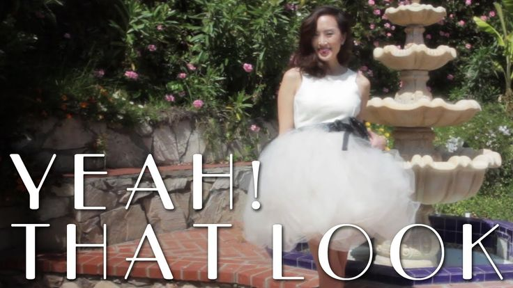 how to make a puffy tulle skirt