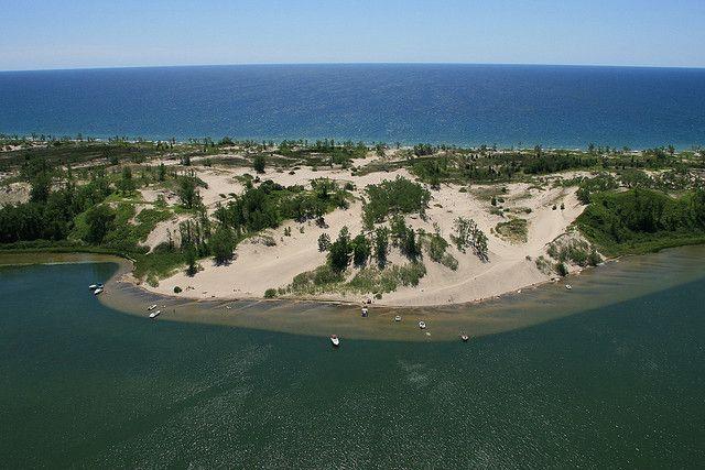 amazing sand dunes at Sandbanks Provincial Park, Belleville, Ontario