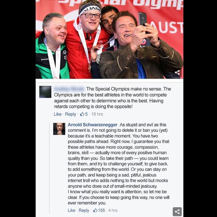 A resposta de Schwarzenegger a um comentário estúpido nesta foto é a melhor coisa que você lerá hoje - Artigos - Tecnologia - Administradores.com