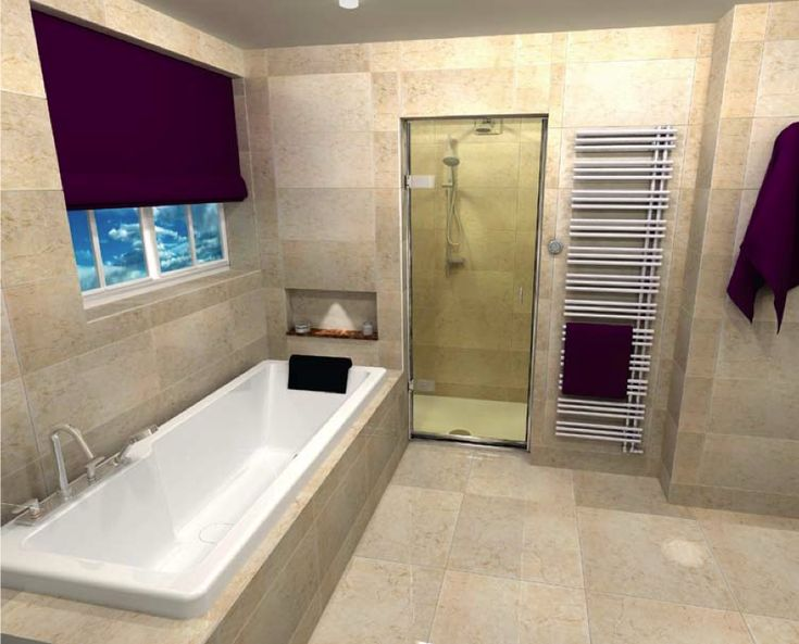 Website Photo Gallery Examples Bathroom Designs The Beauty Purple Curtain In A Simple Design For A Bath Cad Bathroom