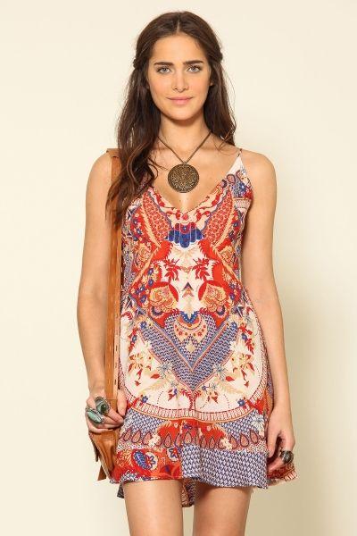vestido curto indija