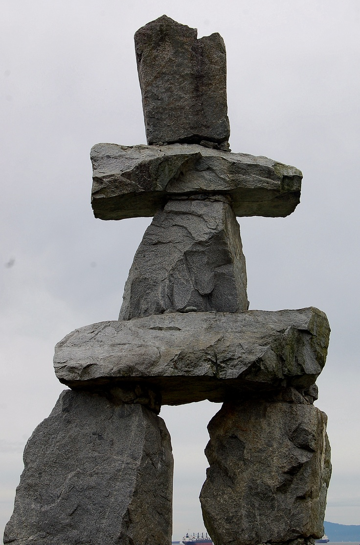 Best images about inukshuk etc stacked stones on