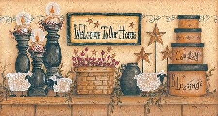 Welcome to Our Home by Mary Ann June