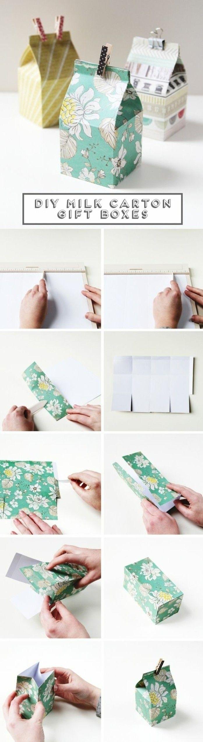 Les 25 meilleures id es concernant cartons de lait sur pinterest artisanat - Comment faire des travaux manuels ...
