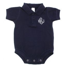Love these monogrammed onesies for babies!  $24.50