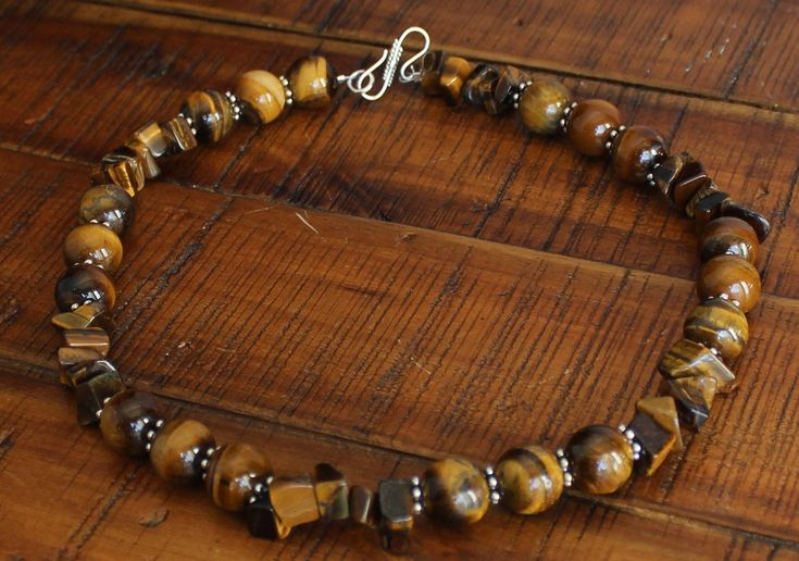 Excited to share the latest addition to my #etsy shop: Tigers Eye Necklace - Stone Healing