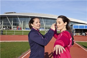 Training with javelin hopeful Goldie Sayers - All power to her arm: Zest's Laura Potter visits Goldie's Team GB Olympic training camp