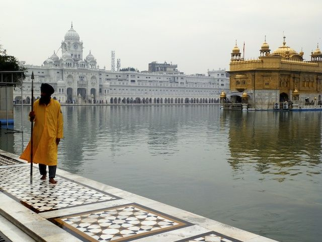 Golden Temple dos Sikhs Amritsar