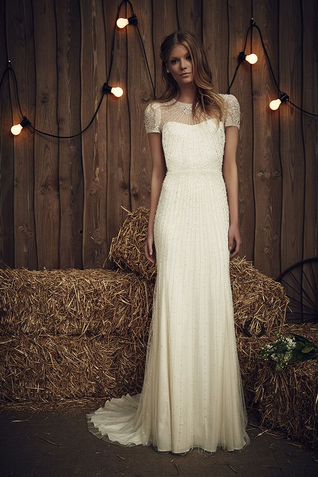 The Dallas Gown in Ivory | The Jenny Packham 2017 Bridal Collection | see them all on www.onefabday.com